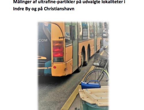 Målinger af ultrafine-partikler i Indre By og på Christianshavn