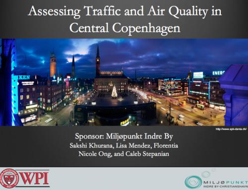 Optimering af trafikforhold og luftkvalitet i Indre by