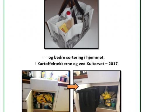 Smarte transportløsninger til private brugere af affaldssorteringsfaciliteter i det offentlige rum