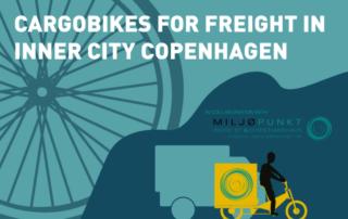 Cargobikes. Cykler til varelevering.